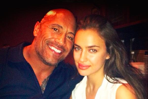 Дуэйн Джонсон и Ирина Шейк. Фото: instagram.com/irinashayk