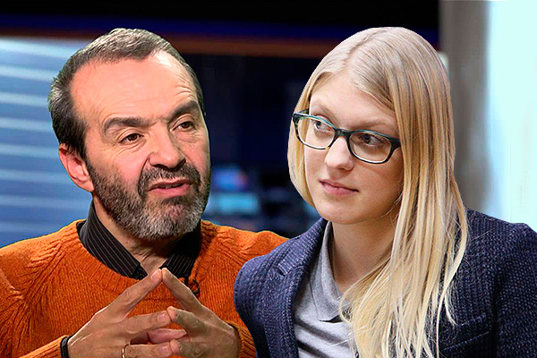 Виктор Шендерович и Леся Рябцева. Фото: Дни.Ру