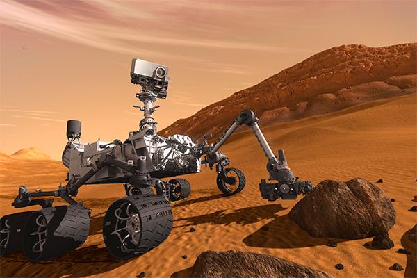 На марсе найдена жидкая вода