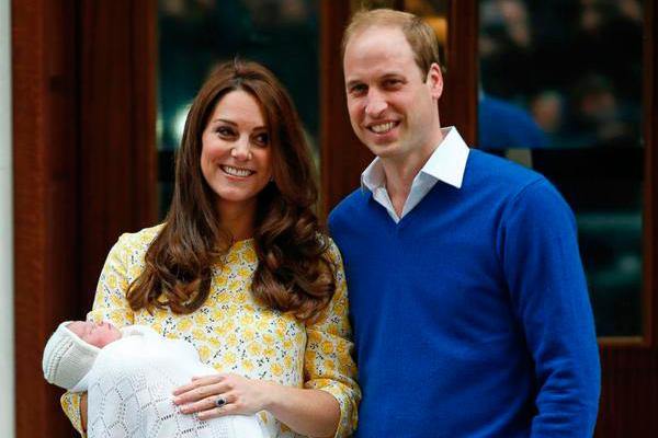 Оглашено имя новорожденной дочери Кейт Миддлтон