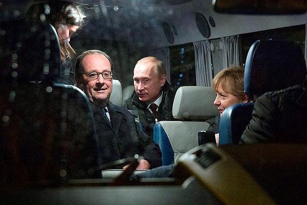 Меркель выложила в Instagram снимок с Путиным