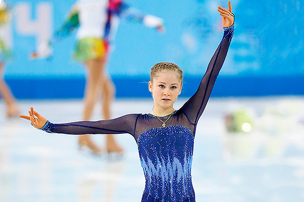 Юлия Липницкая. Фото: GLOBAL LOOK press