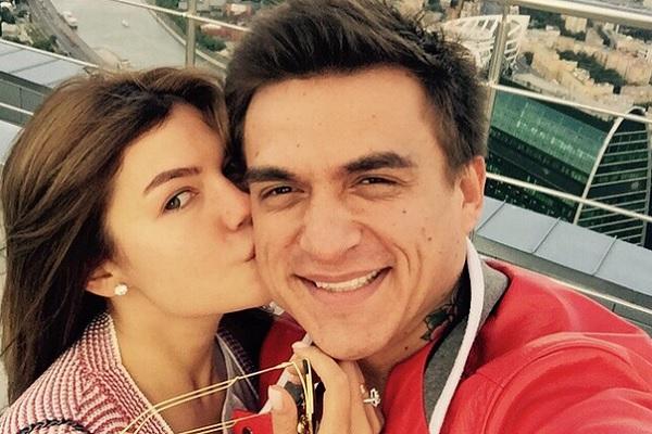 Ксения Данилина и Влад Топалов. Фото: instagram.com/vladtopalovofficial