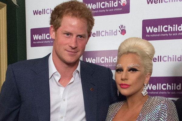 Принц Гарри и Леди Гага. Фото: twitter.com/gerrygaga28