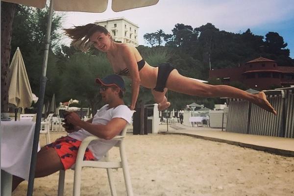 Виктория Боня с женихом. Фото: instagram.com/victoriabonya
