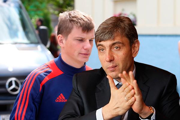 Андрей Аршавин и Сергей Галицкий. Фото: Дни.Ру