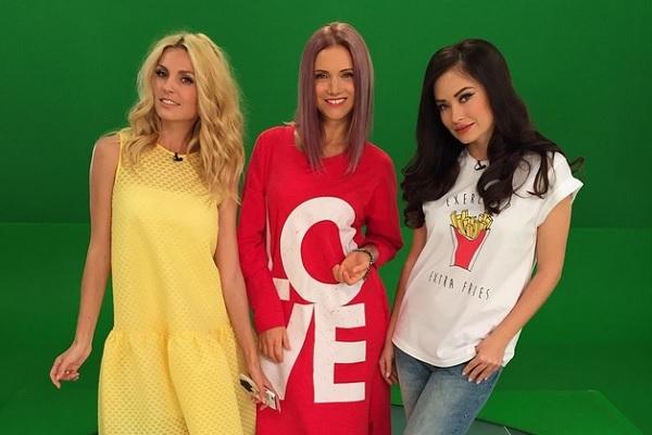 Саша Савельева, Ира Тонева и Саша Попова. Фото: instagram.com/irina_toneva