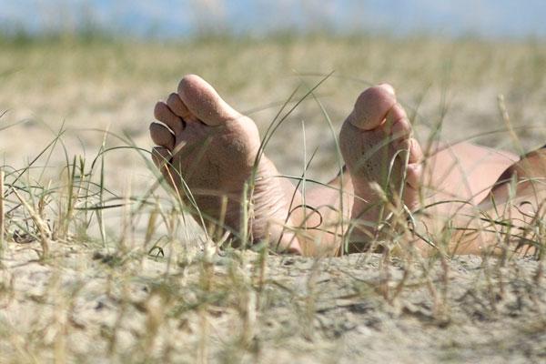 В Курске на официальных пляжах отдыхают нудисты