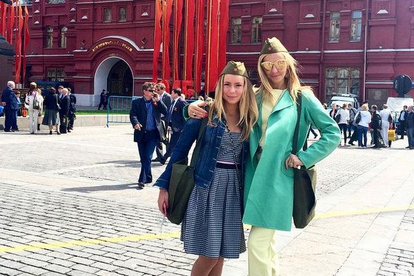 Александра Жулина и Татьяна Навка