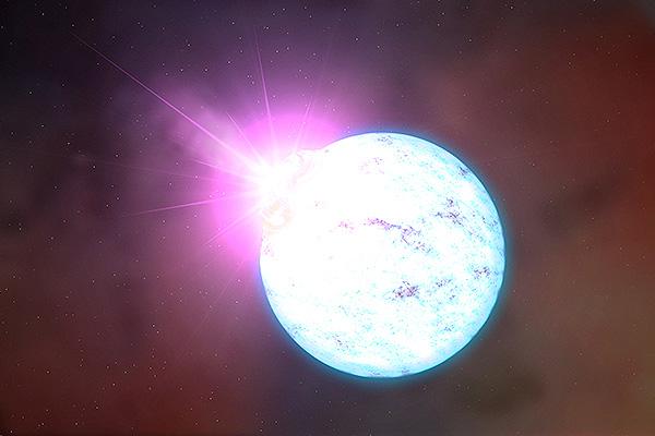 Новая планета спряталась в зародыше звезды