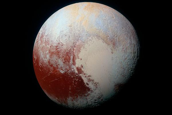 Плутон в цвете