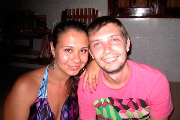 Дмитрий М. с супругой Татьяной. Фото: vk.com/milotanya