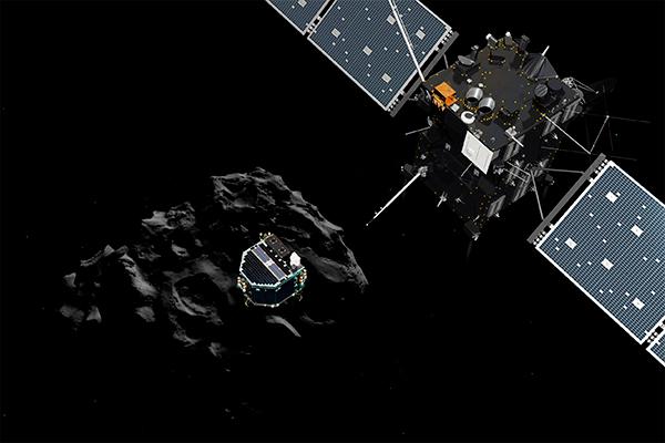 Комета Чурюмова – Герасименко несет кислород
