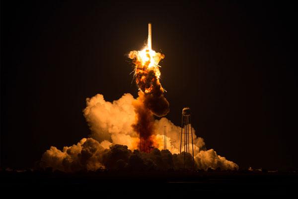 NASA винит во взрыве Antares двигатели СССР