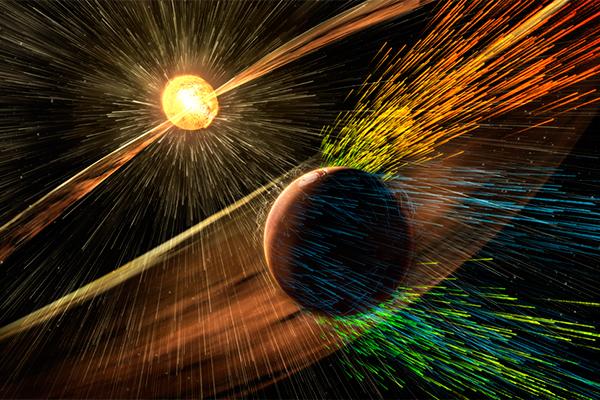 NASA: Воду и тепло с Марса сдул ветер