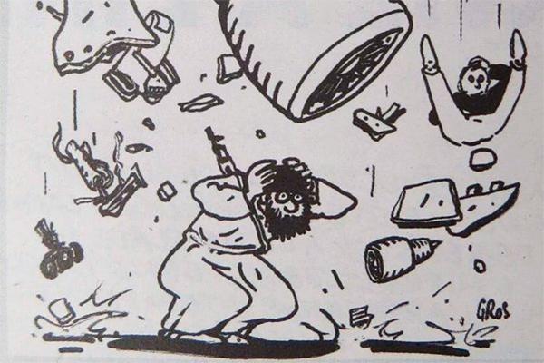 «Charlie Hebdo» ответила наобвинения Кремля вкощунстве
