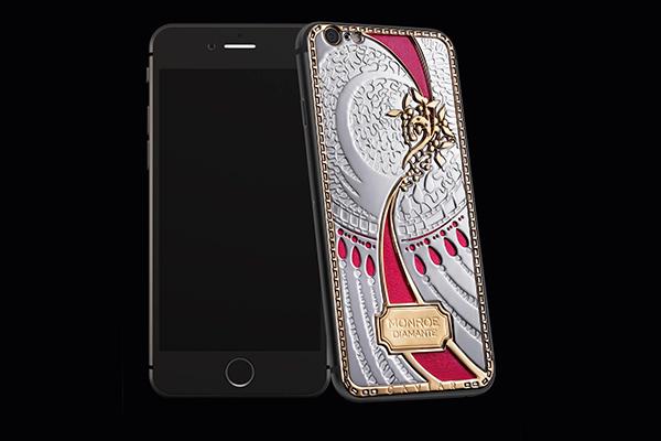 Вышел iPhone с бриллиантами Мэрилин Монро