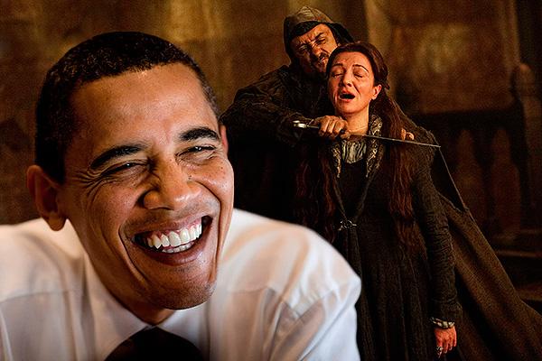 Обама практически назвал любимого персонажа в«Игре престолов», однако забыл имя