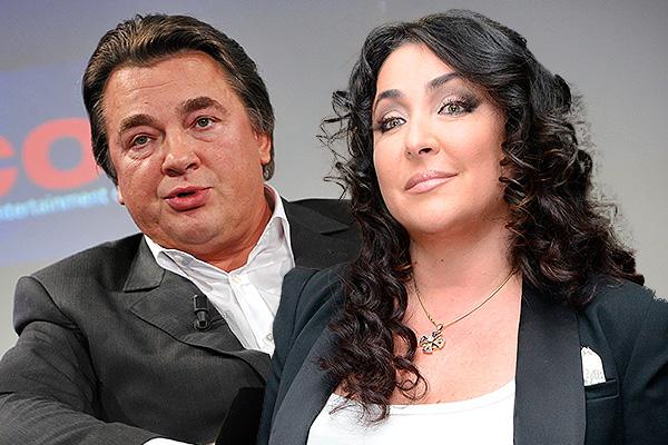 Константин Эрнст и Лолита Милявская. Фото: Дни.Ру