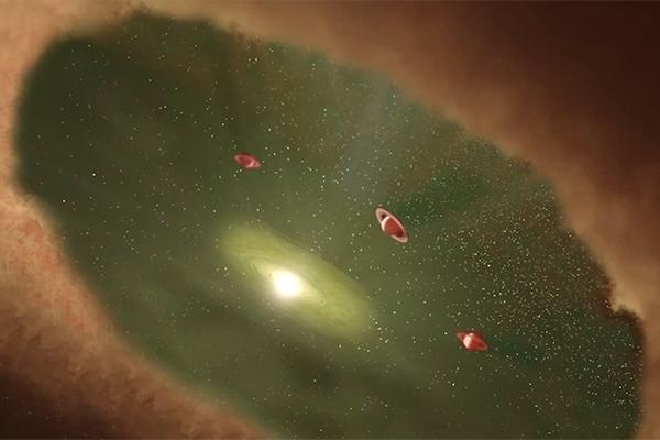 Ученые впервые увидели рождение планеты