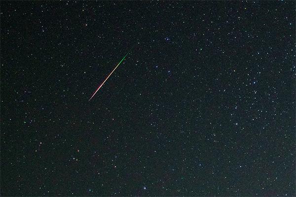 Над Башкирией пролетел крупный метеорит
