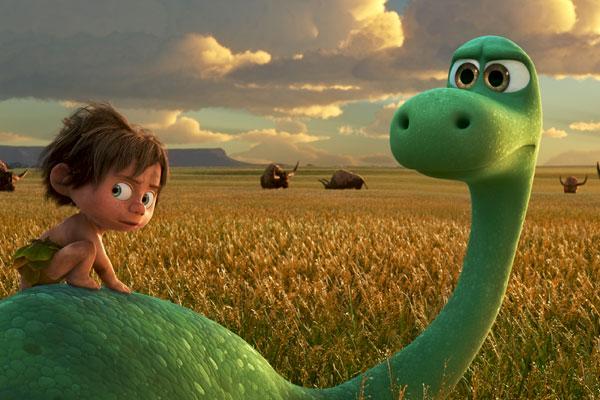 """Кадр из мультфильма """"Хороший Динозавр"""""""
