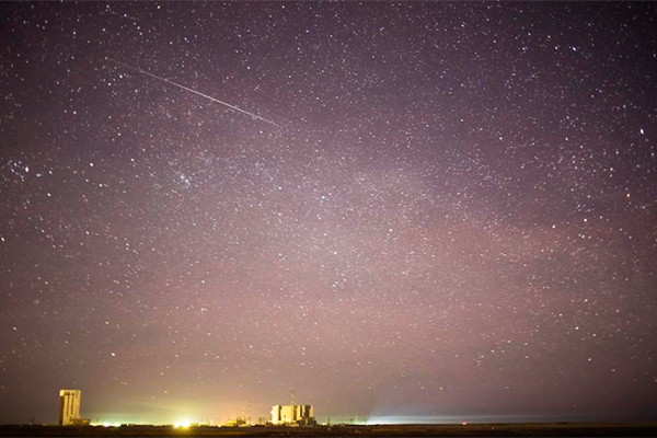 Над Байконуром пролетел метеорит