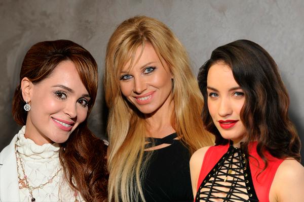 Анна Калашникова, Ирина Нельсон и Виктория Дайнеко. Фото: Дни.Ру