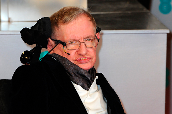 Стивен Хокинг. Фото: GLOBAL LOOK press/Hubert Boesl
