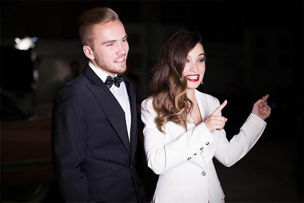 Виктория Дайнеко с мужем. Фото: пресс-служба певицы