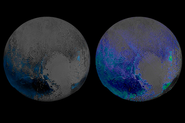 Плутон оказался покрыт замерзшей водой