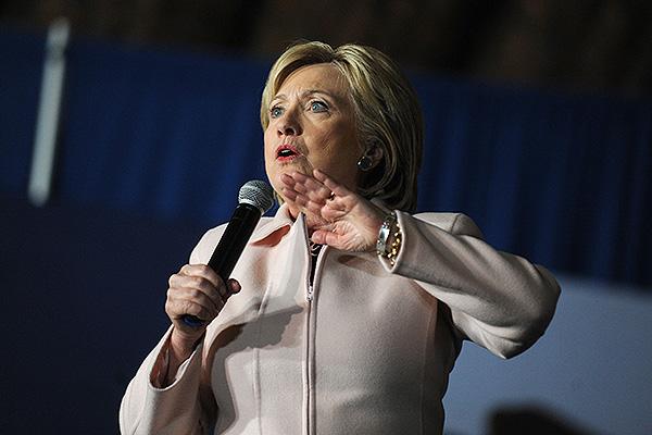 Хиллари Клинтон. Фото: GLOBAL LOOK press\MediaPunch/face to face