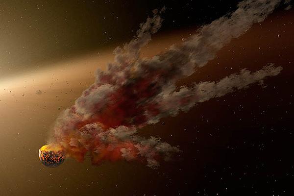 К Земле летит двойник челябинского метеорита