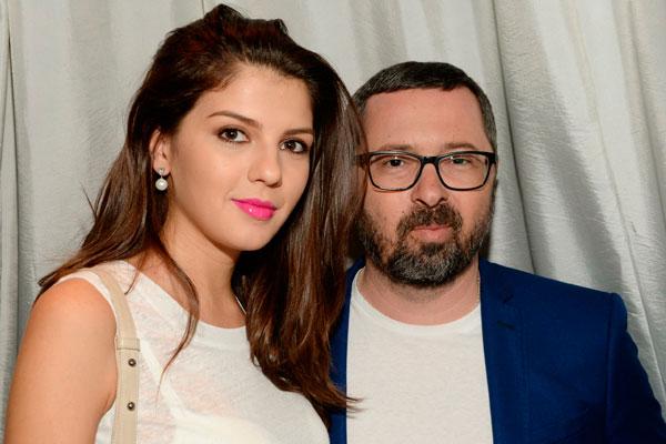 Алексей Рыжов с женой Ириной. Фото: GLOBAL LOOK press/Anatoly Lomohov