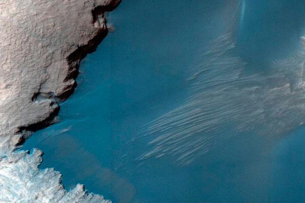 На Марсе найдены обитаемые озера