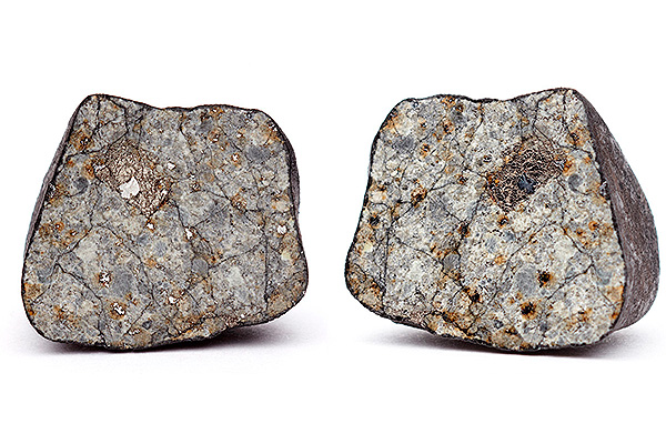 Вчелябинском метеорите отыскали похожий салмазом кристалл