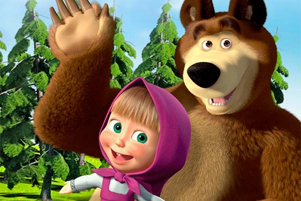 """Фото: Кадр из мультфильма """"Маша и Медведь"""""""
