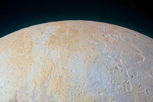 NASA показало ледяные каньоны Плутона