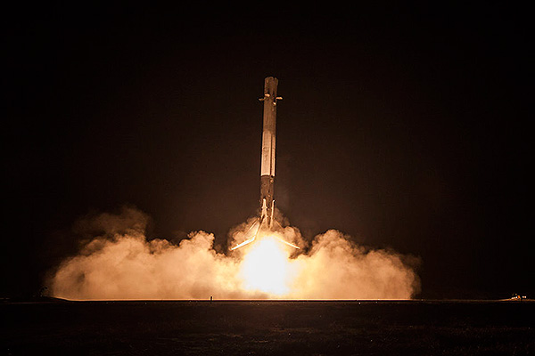 SpaceX провалила запуск Falcon 9