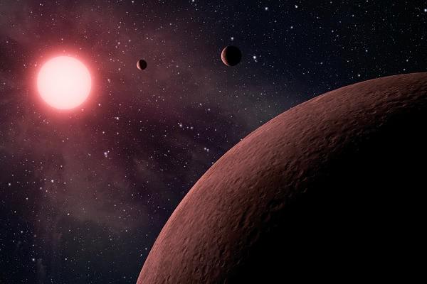 Астрономы: Вулкан на Марсе сместил его ось вращения