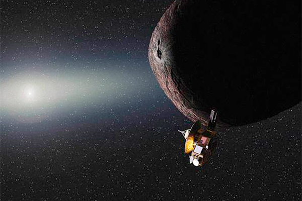 """New Horizons """"унес"""" с собой часть Плутона"""