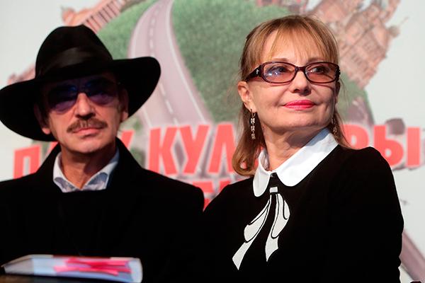 Михаил Боярский и Лариса Луппиан. Фото: Светлана Холявчук/Интерпресс/ТАСС