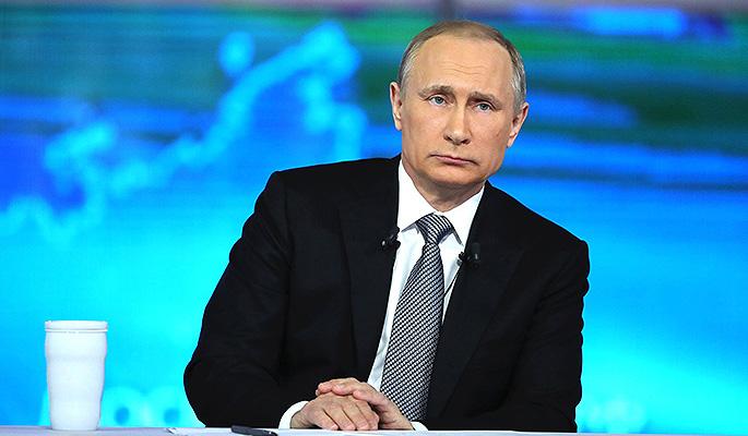 Кремль огласил доходы Путина