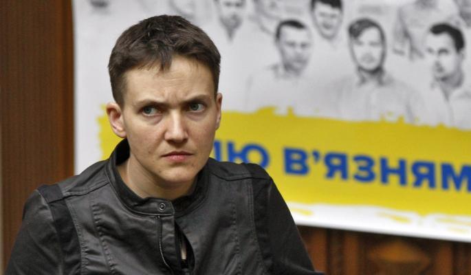 ОТДАТЬ УКРАИНУ ПУТИНУ: Савченко жжет