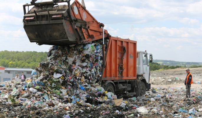 Украина начала добывать газ на мусорной свалке