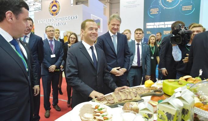 Медведев променял торт на пармезан