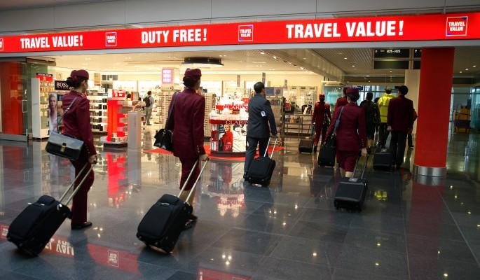 Duty free выходит из магазинов