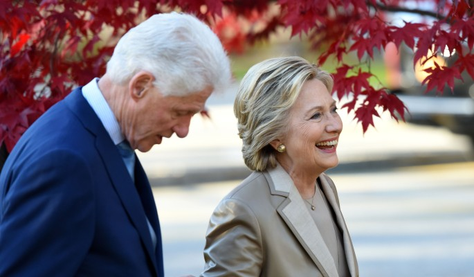 хиллари клинтон подала развод