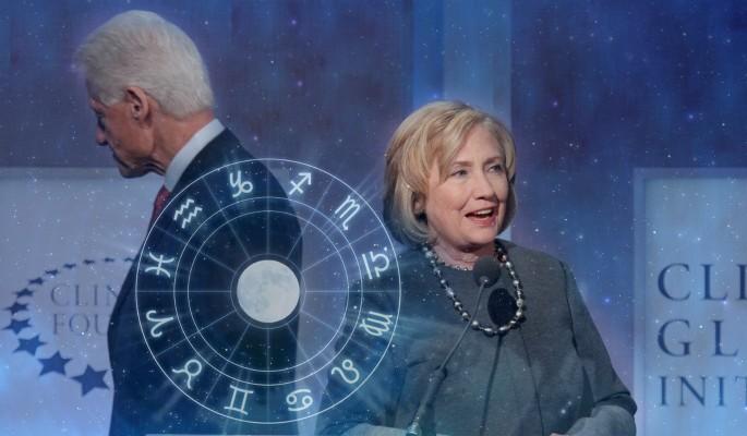 хиллари клинтон гороскопе билл