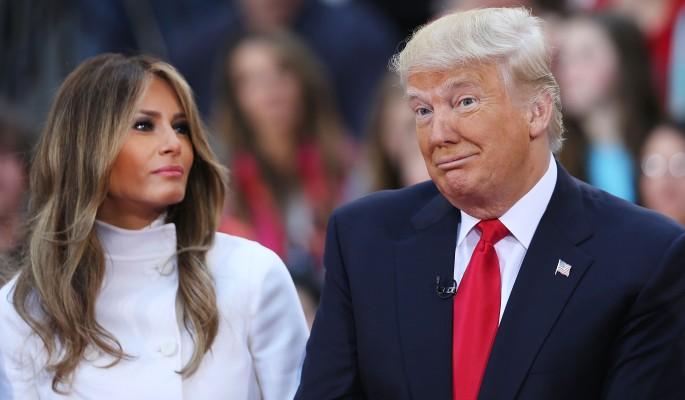 меланья трамп перестала спать мужем